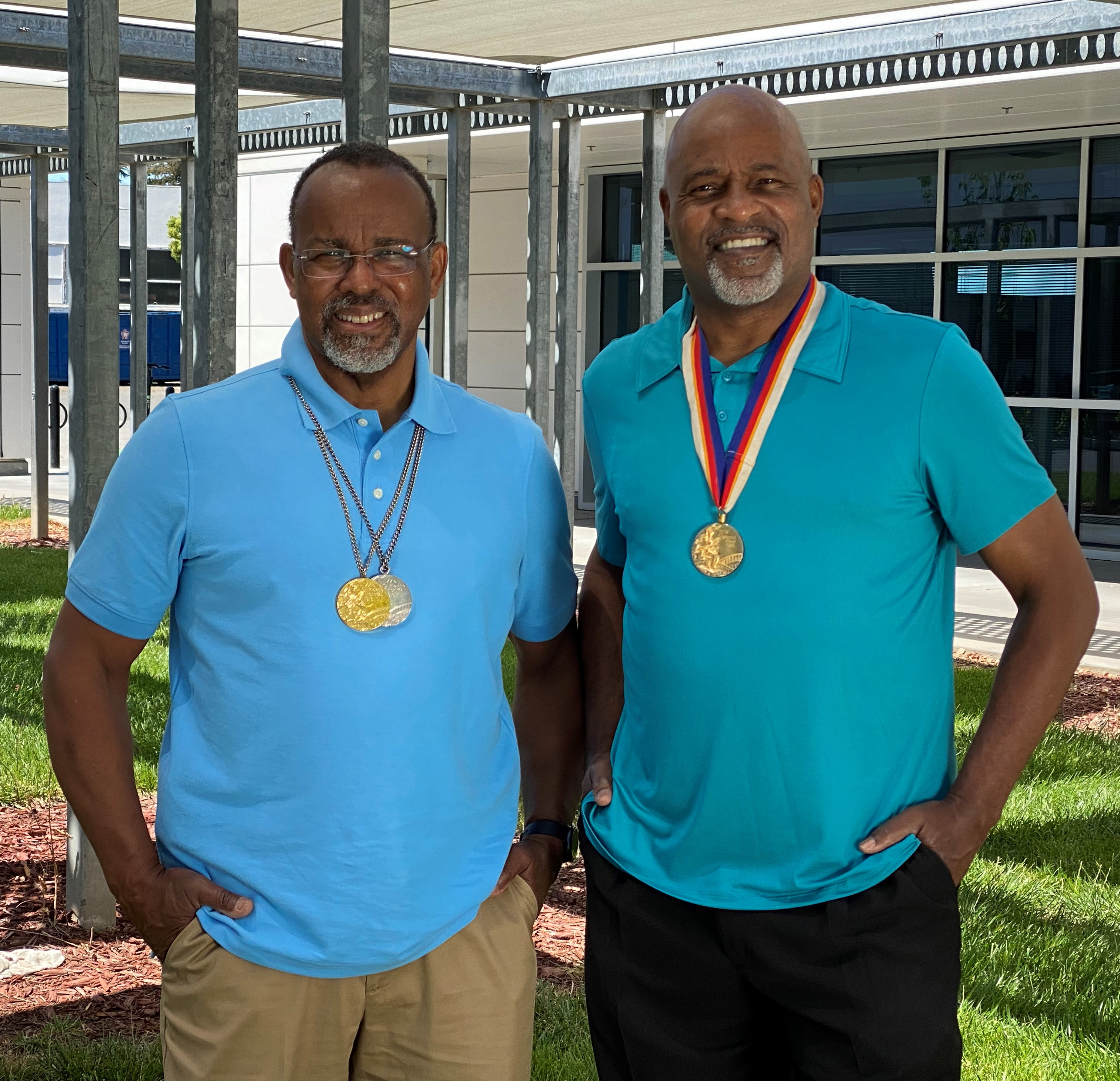 Olympic Gold-medal Winners Hampton and Phillips at SJCC in 2021