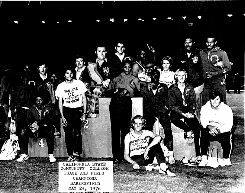 SJCC 1976 Track and Field State Champions