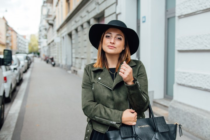 Swiss blogger wearing autumn outfit