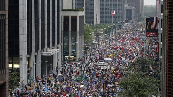 The People's Climate March was the biggest collective action for the climate in history