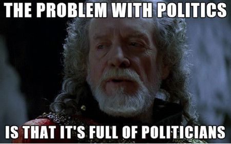 funny-political-meme-the-problem-with-politics-is-that-its-full-of-politicians-picture