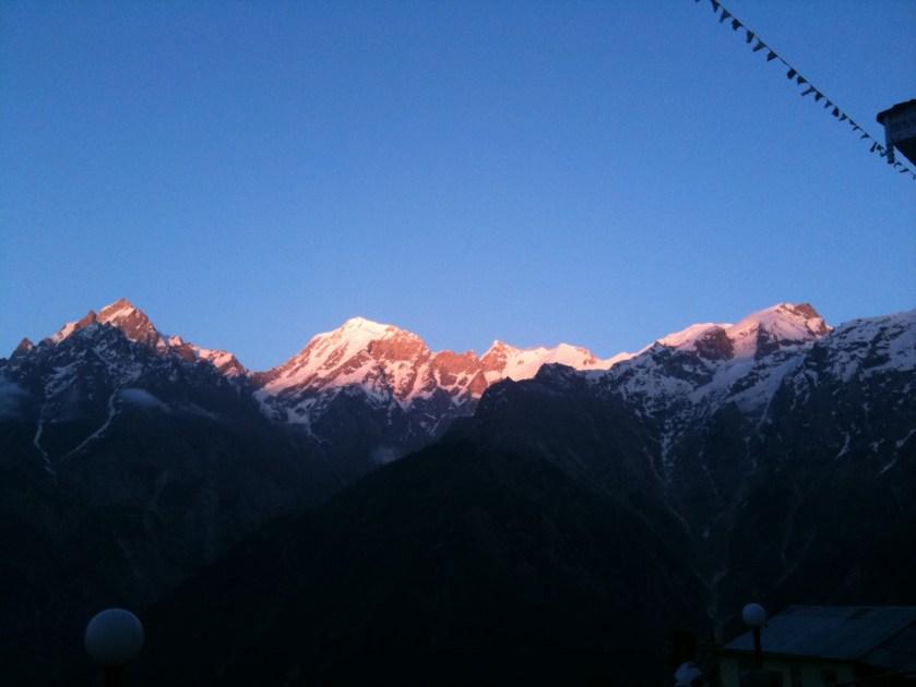 sunset, Mount Kailash, kalpa, shimla to delhi, shimla to spiti, spiti, himachal pradesh