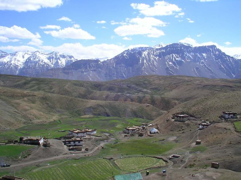 komik village, hikkim, spiti valley, himachal pradesh, offbeat travel, india, buddhism
