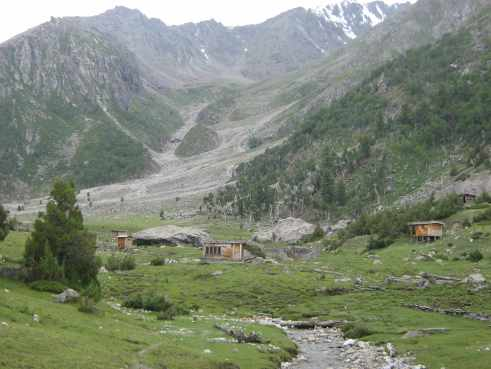 beyal camp, nanga parbat, base camp, fairy meadows, killer mountain, offbeat travel, pakistan, himalayas