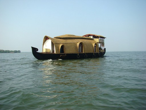 Kerala, houseboat, backwaters, india, travel