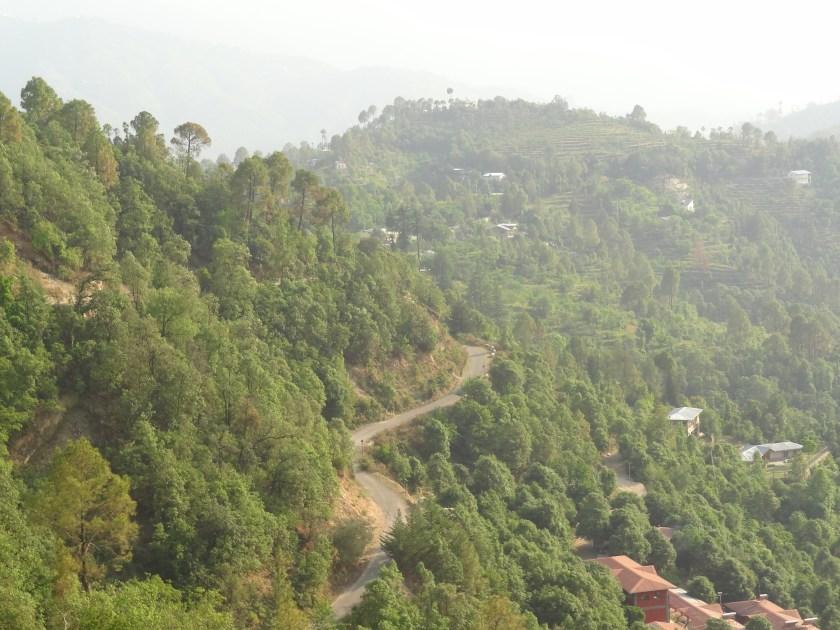 Kumaon himalayas, Indian villages