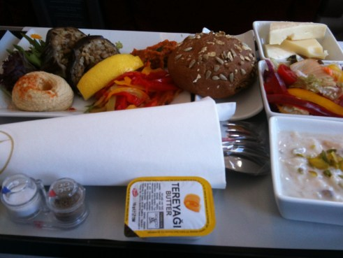 Turkish airlines business class, Turkish airlines food, Turkish airlines review