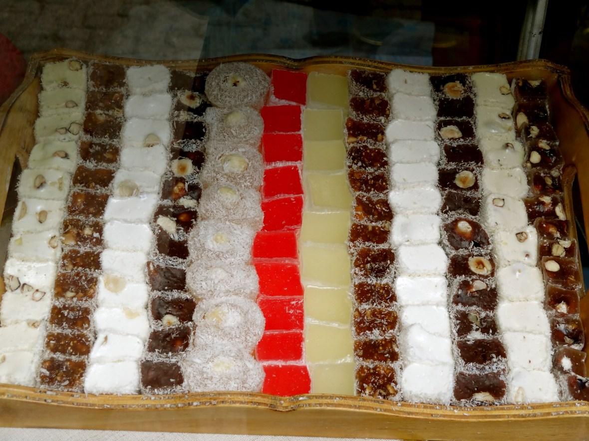 Turkish delight, lokum Turkish delight