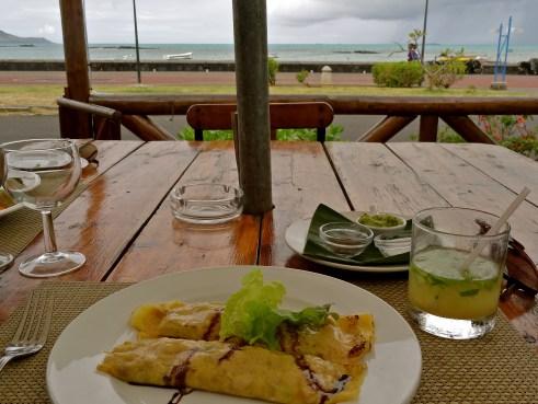 Mauritius top restaurants , Mauritius vegetarian, Les Coptaines
