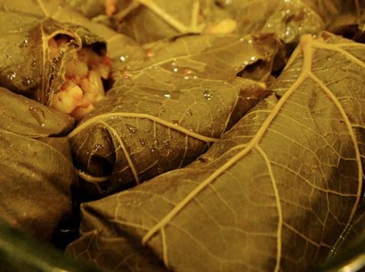 Yaprak Dolma, Turkey dolma, vegetarian dolma