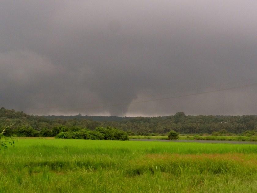 Goa in the monsoon, North Goa, september in goa