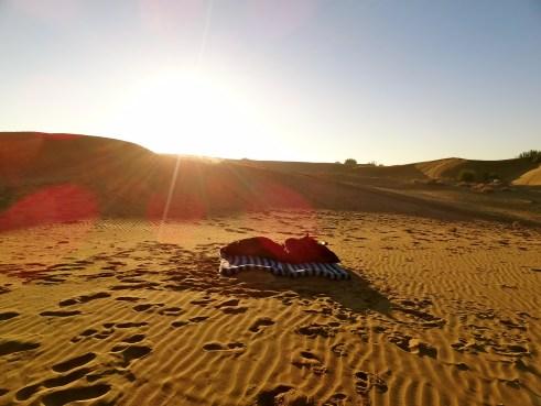 Thar desert, Rajasthan India, sand dunes india