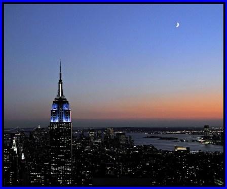 New York City, Lufthansa to New York
