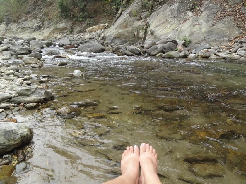 Rangeet river, Darjeeling to Sikkim hike