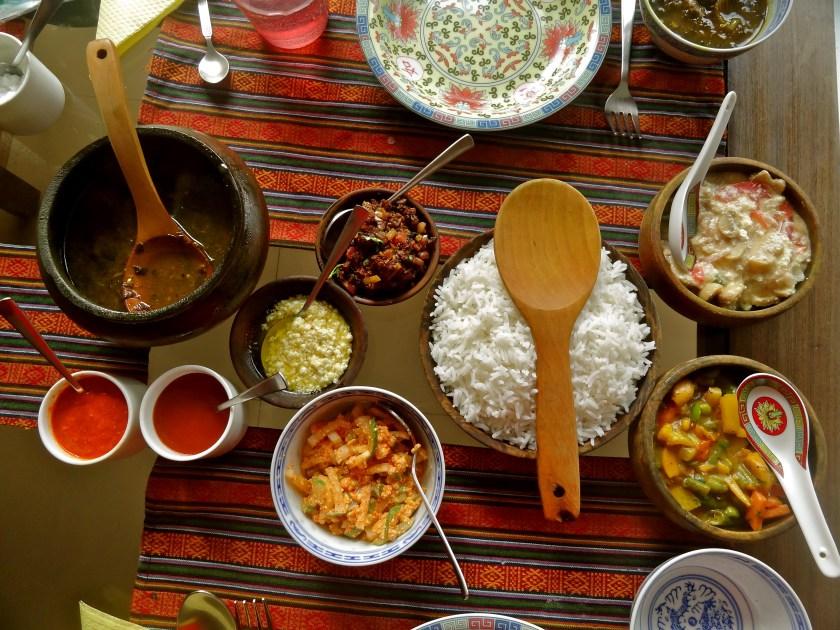 Sikkim food, Gangtok food, Gangtok where to eat, Nine native cuisine, best places to eat in gangtok