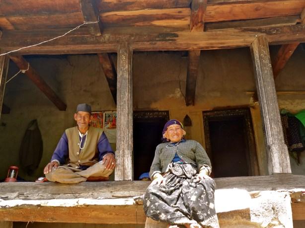 Garhwal Himalayas, Kuflon, Uttarakhand villages