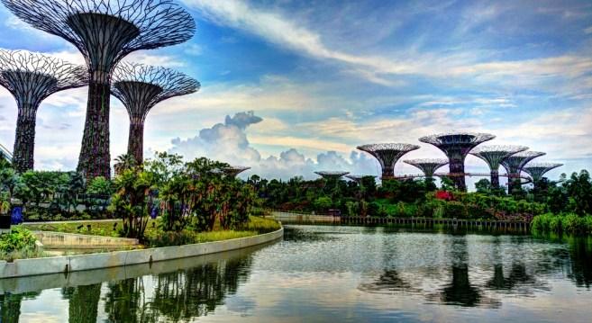 Gardens by the Bay. Photo by Khairul Nizam.