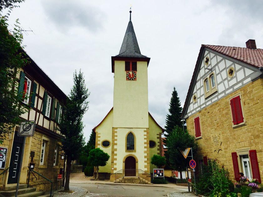 Waldensians, Waldensian churches, grossvillars, south west germany