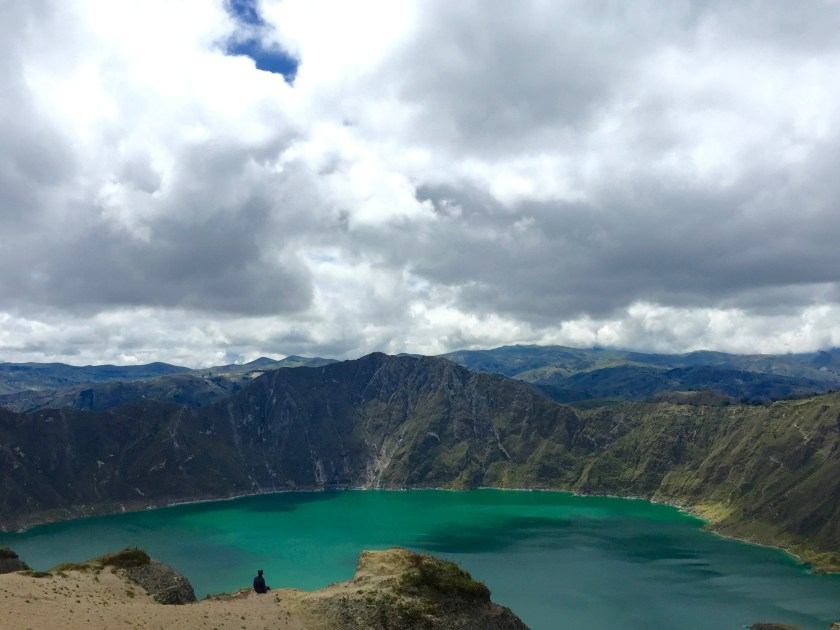 lake quilotoa, ecuador travel, ecuador blogs