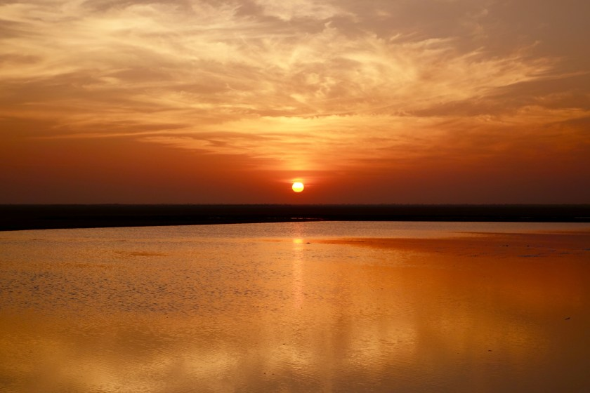little rann of kutch, gujarat sunset, gujarat travel guide, wild ass sanctuary