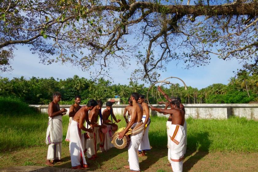 percussion music kerala, kerala for artists, responsible travel kerala, nila river, river nila kerala