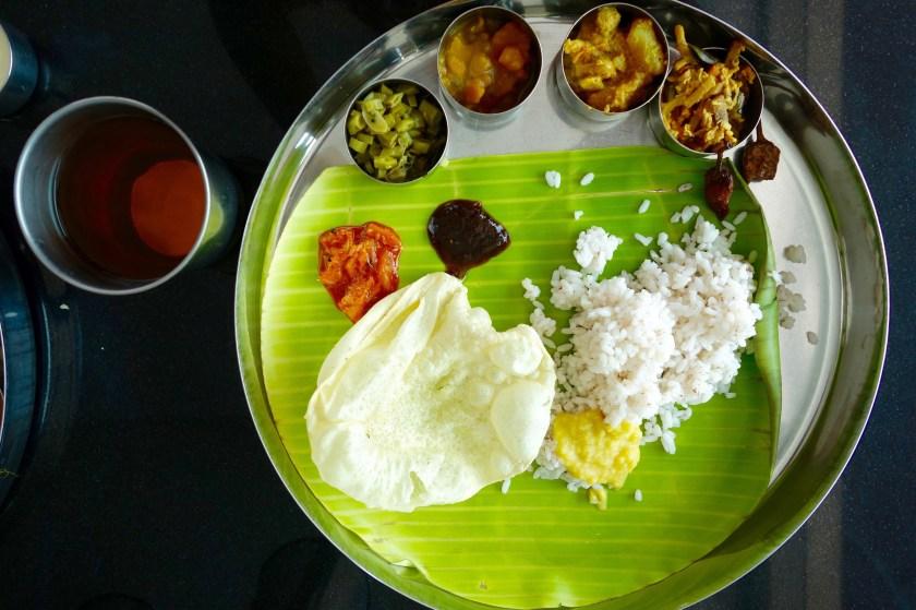 Kerala food, Kerala vegan food, kerala vegetarian food, kerala cuisine, nila river food