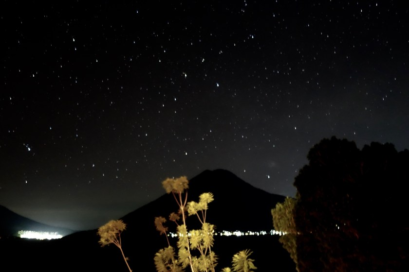 stargazing lake atitlan, stargazing guatemala