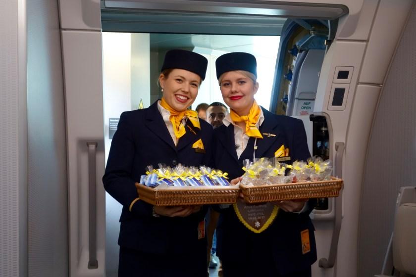 Lufthansa A350, A350 features, Lufthansa review