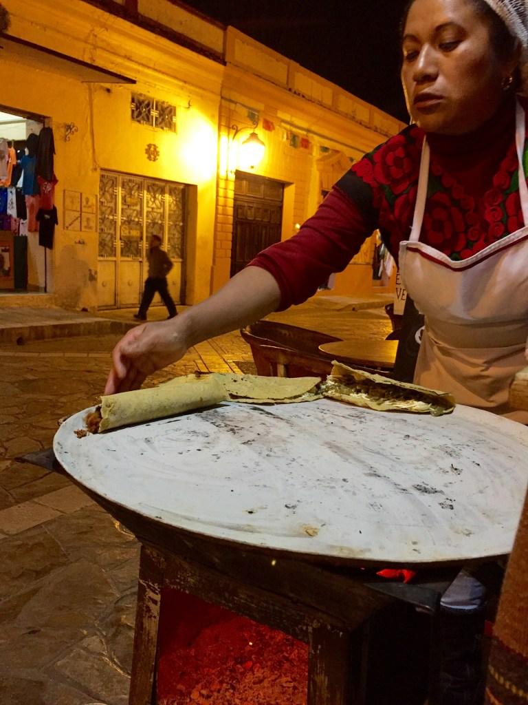 Mexico vegan food, san cristobal de las casas food