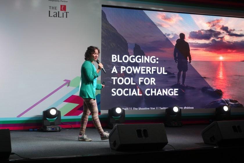 sustainable travel speaker, motivational speaker, shivya nath