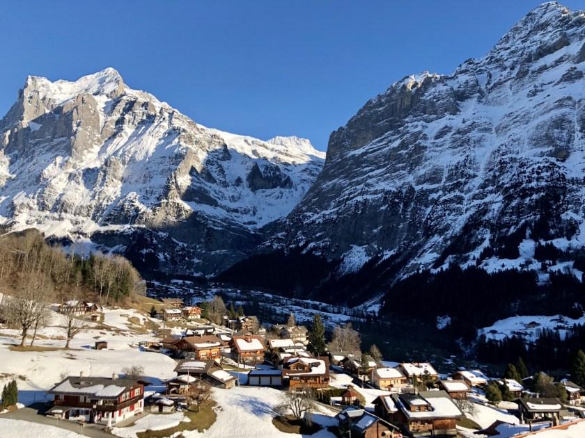 Grindelwald winter, Grindelwald switzerland, Swiss villages