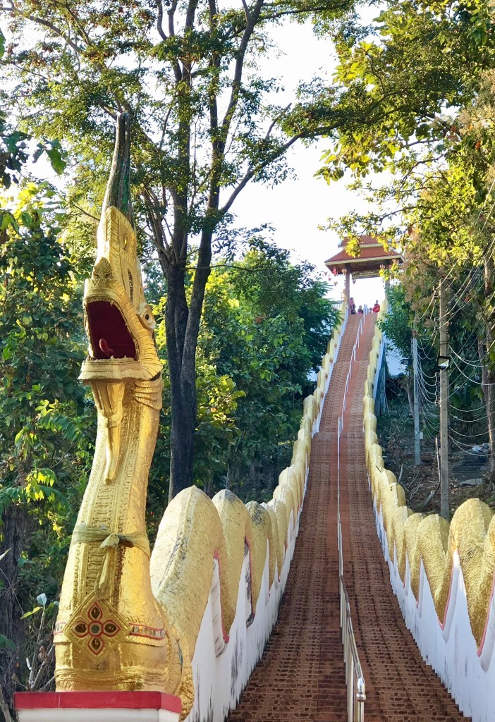 Chiang Mai things to do, chiang mai buddism, wat suan dok monk chat