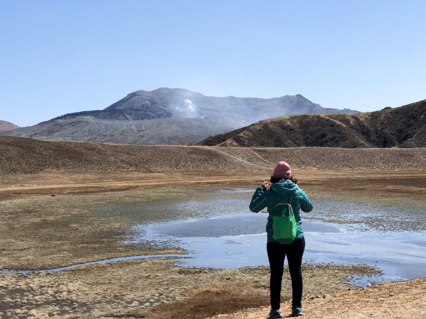 mount aso japan, solo travel for women, why travel solo