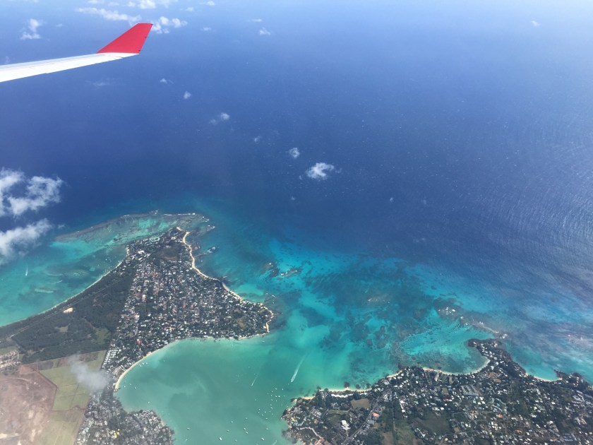 Mauritius landing, onism