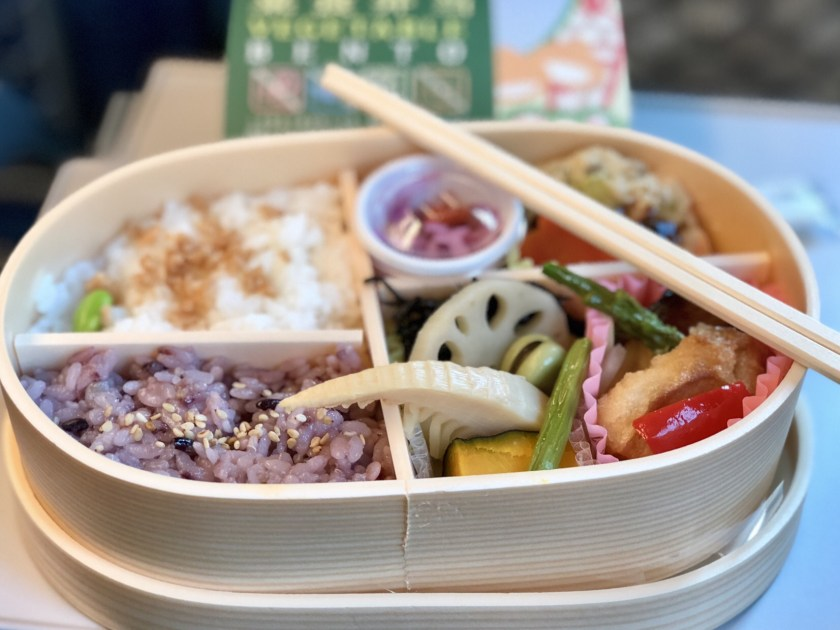 bento box japan, japan rail pass for tokyo, vegan bento box tokyo station