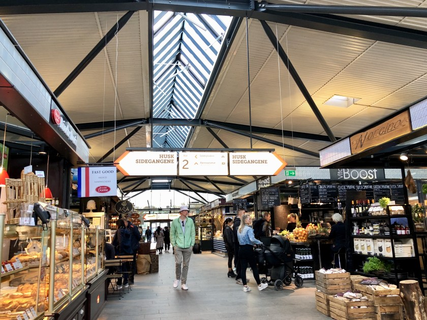 Torvehallerne food hall, alternative things to do in copenhagen, copenhagen like a local