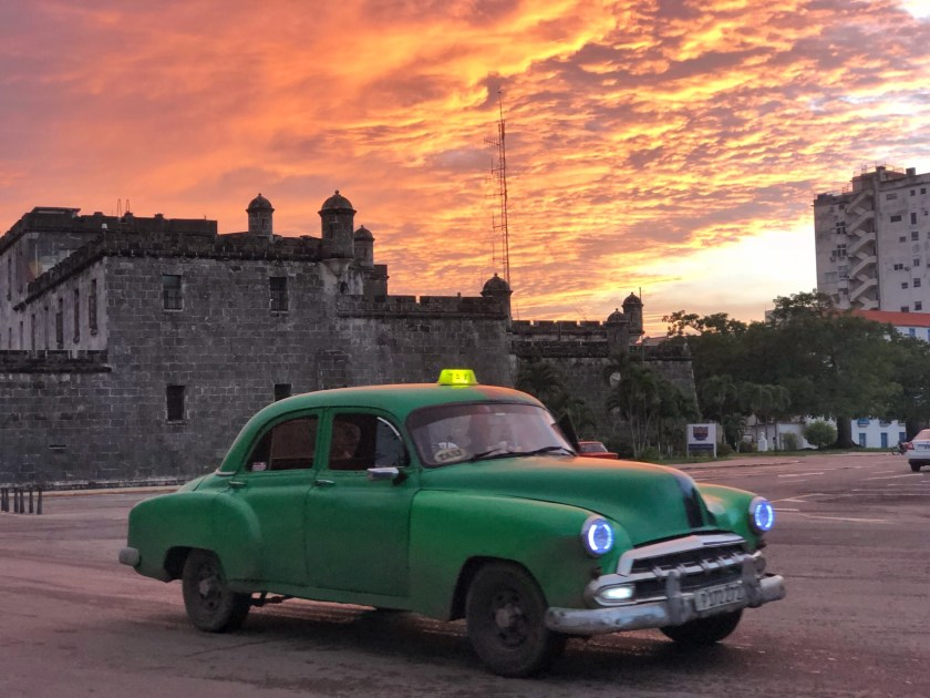 havana sunset, solo travel cuba, why travel solo