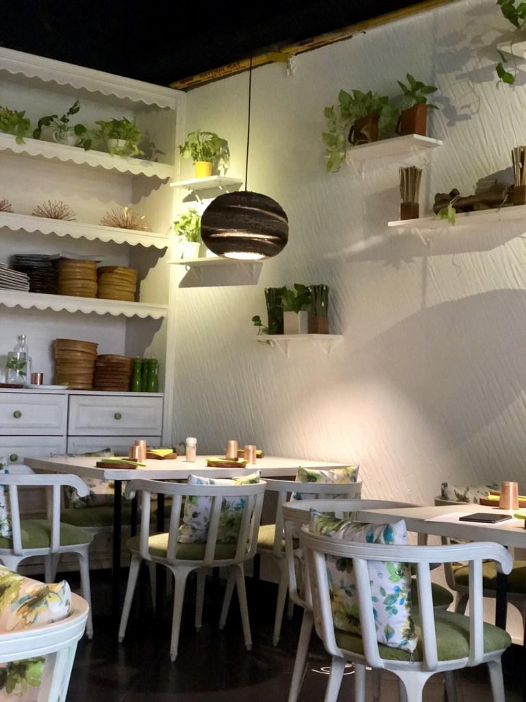 Sante spa cuisine BKC, vegan food BKC