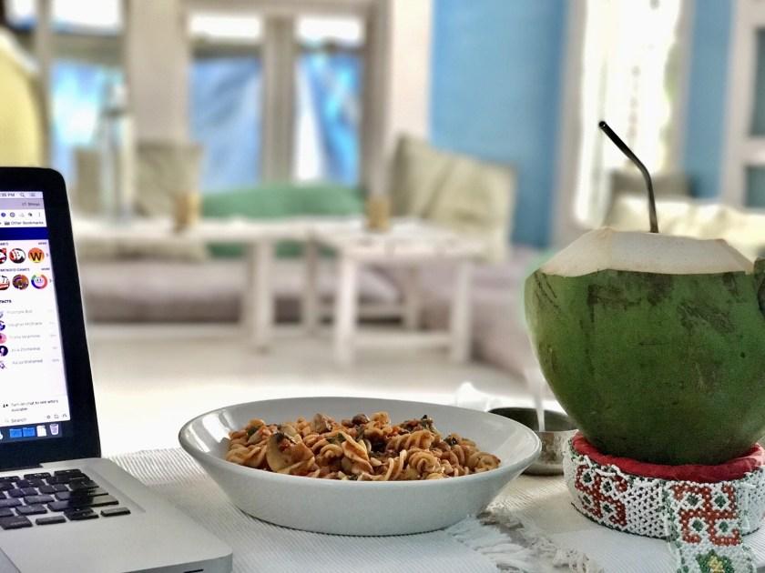 Yoga house bandra, vegan food bandra, cafes with wifi mumbai