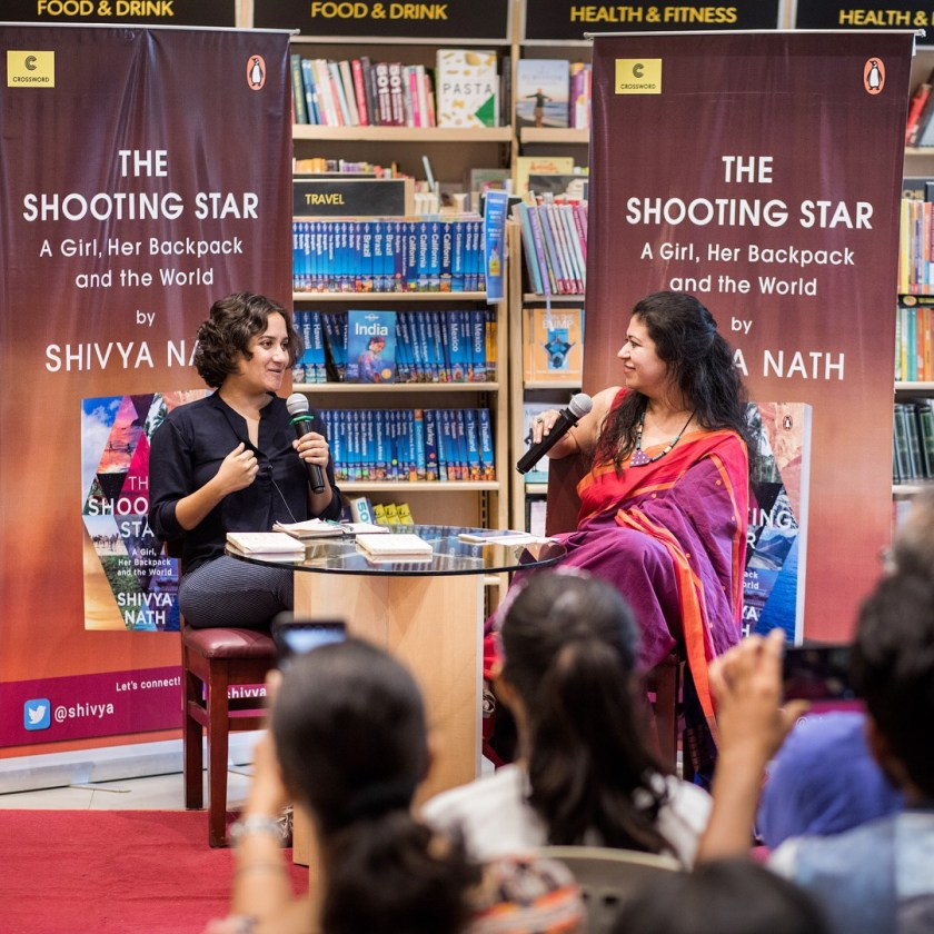 the shooting star book launch, publishing a book in india, travel books india