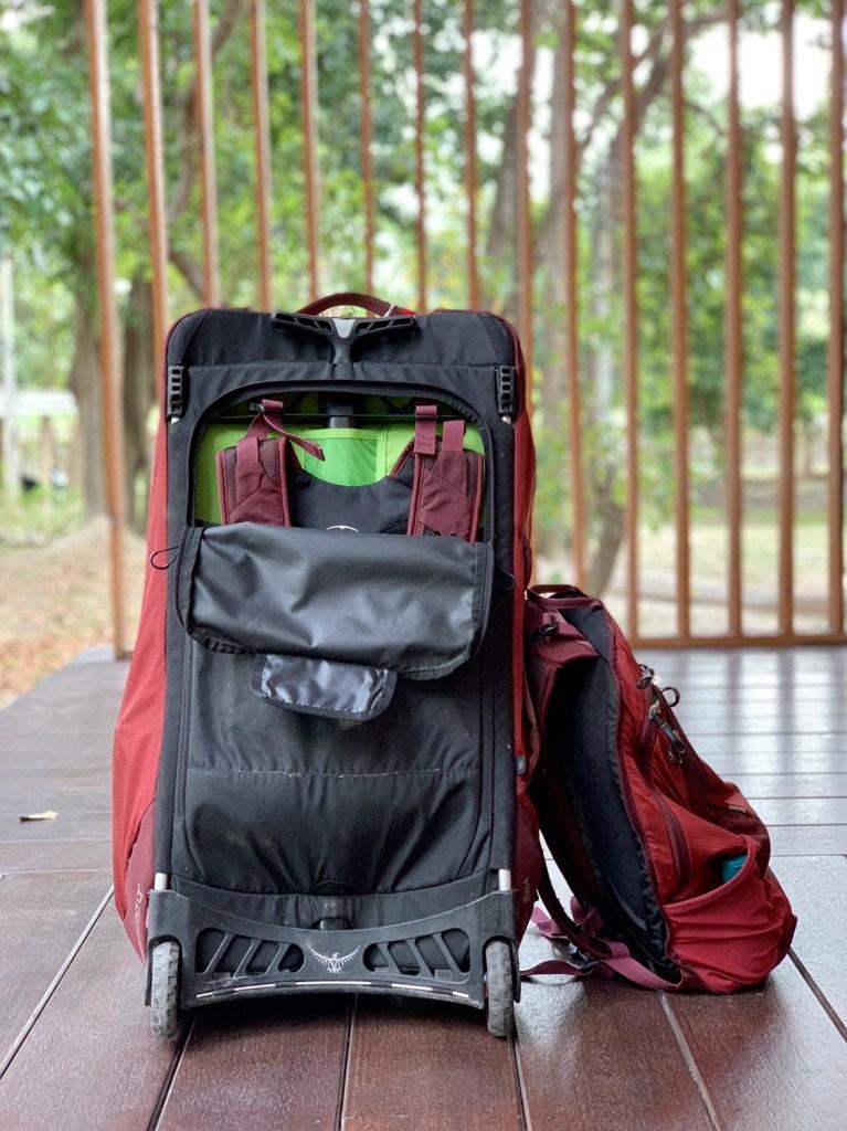 Osprey convertible, digital nomad packing list, digital nomad lifestyle