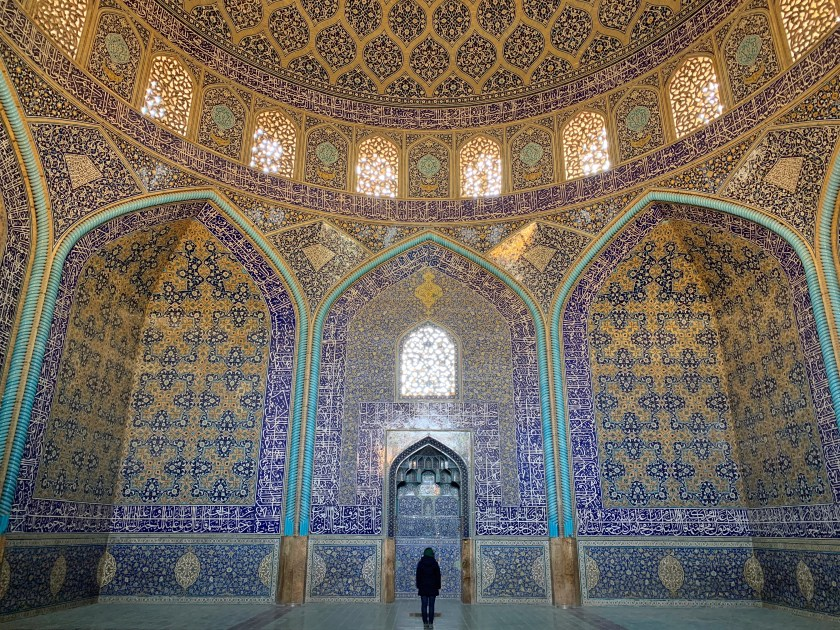 sheikh lotfollah mosque, how is iran as a country, why visit Iran, Iran travel 2019