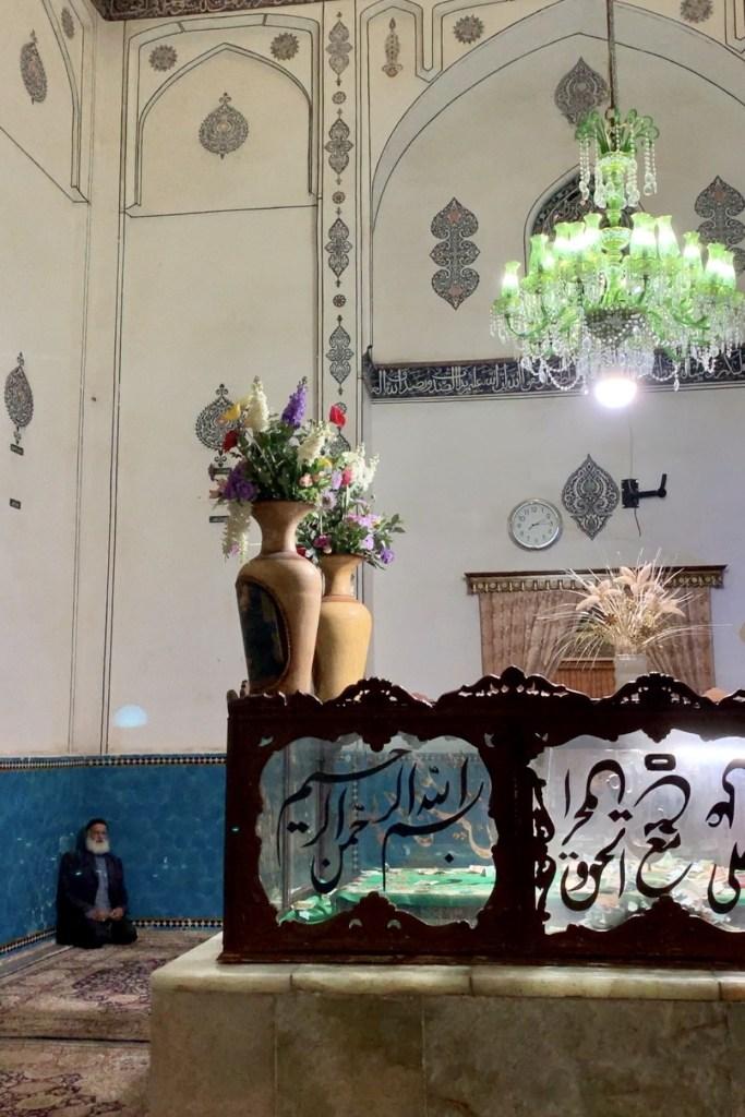 Shah Nimatullah vali shrine, why go to Iran, travel Iran blog