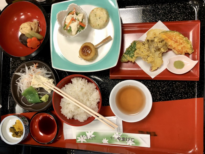 vegan in japan, vegan japanese food, shyojin ryori japan