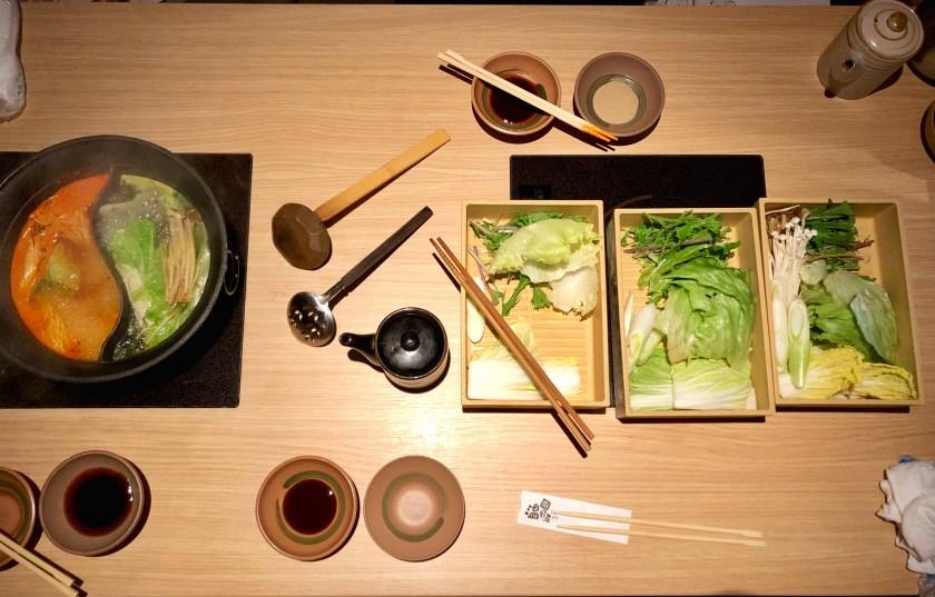 veggie shabushabu