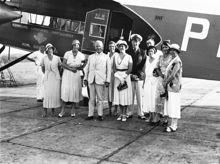 fly responsibly, klm history, early aircrafts