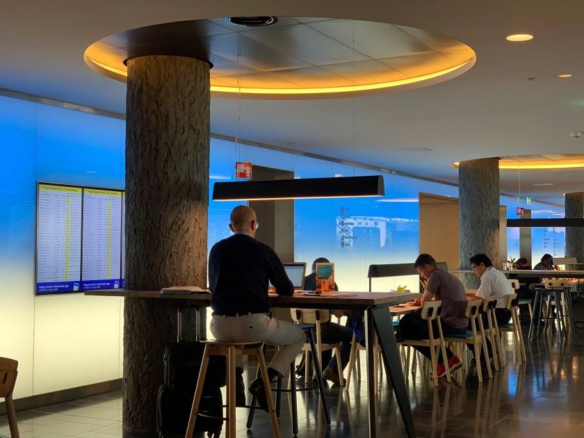 KLM Crown Lounge in Amsterdam