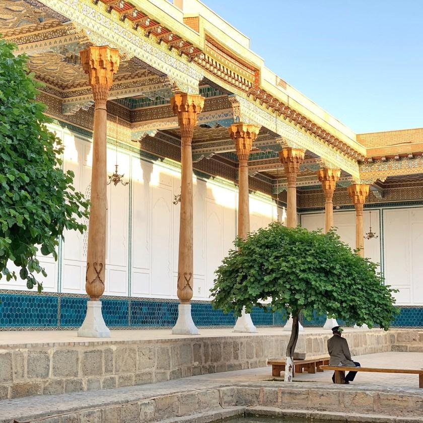 sufi shrine uzbekistan, naqshbandh sufi complex bukhara, what to do in uzbekistan