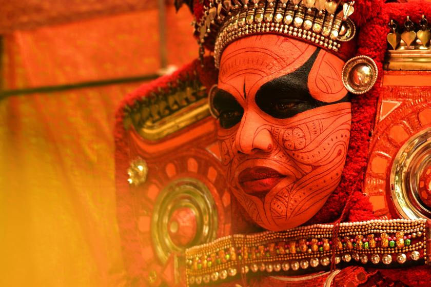 theyyam kasaragod, things to do in kasaragod