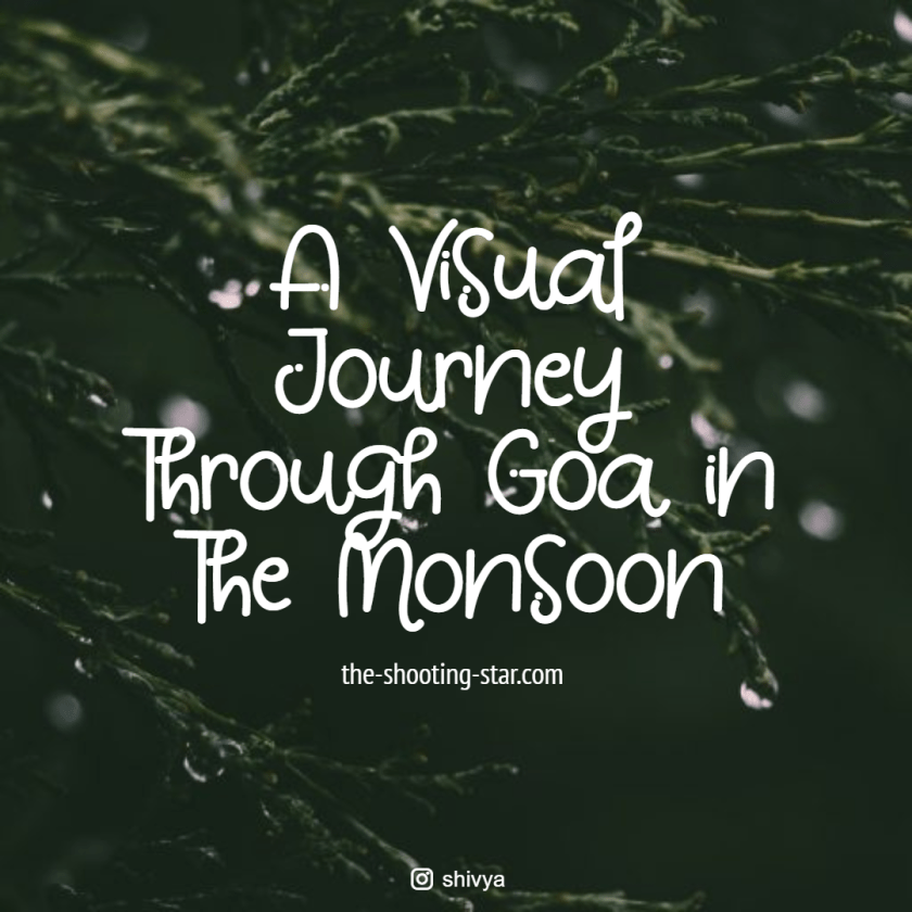 goa in the monsoon, goa rainy season, should i go to goa in the monsoon